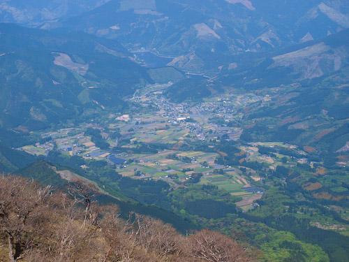 山頂の展望
