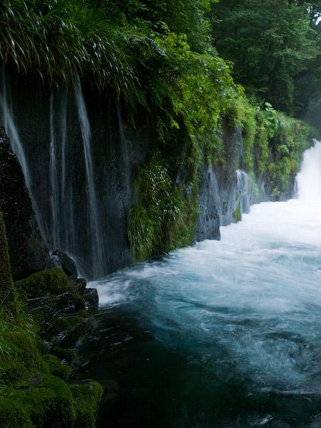黎明の滝@菊池渓谷