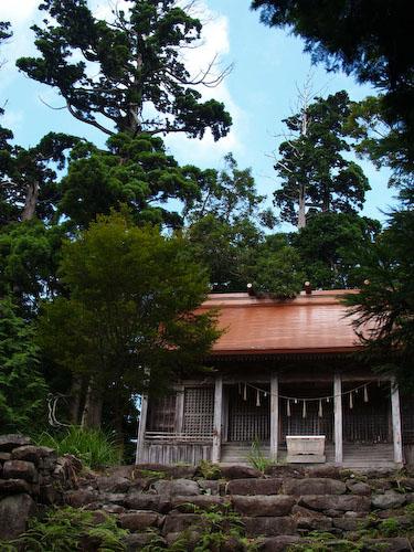 求菩提山山頂(国玉神社の上宮)