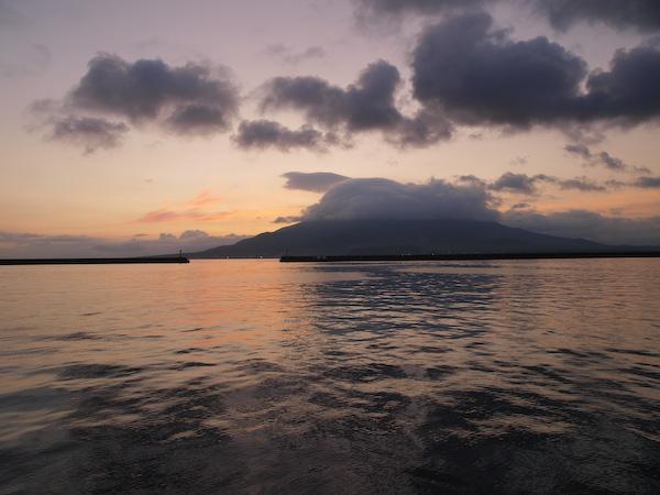 桜島 from 鹿児島港