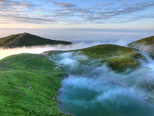 稲星山と御池