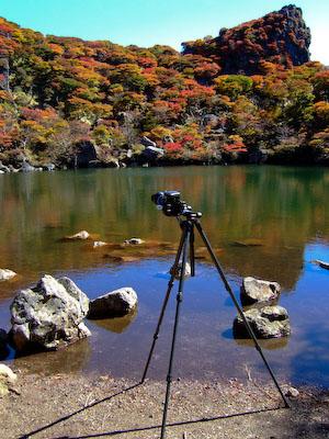 撮影風景@大船山