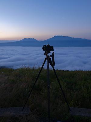 雲海の撮影