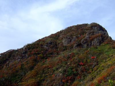 祖母山の山頂