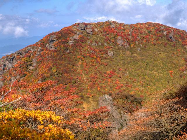 北峰の紅葉