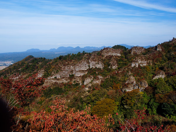 屏風岩 from 無名岩