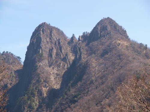 傾山の山頂