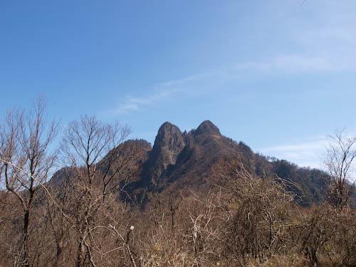 傾山 from センゲン尾根