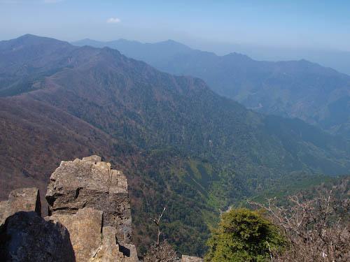展望 from 傾山