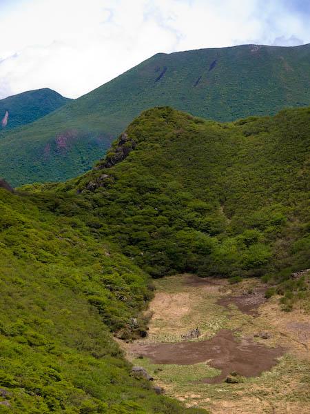 大鍋と北大船山