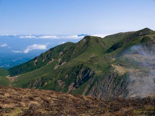 南峰からの景色