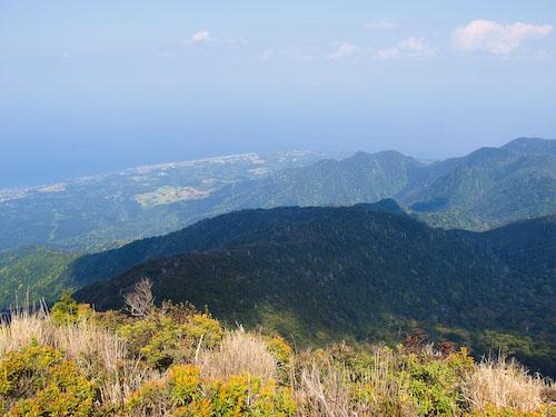 愛子岳山頂の景色