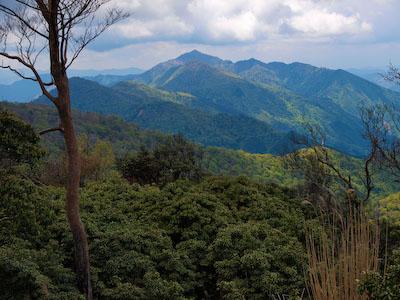 石堂山 from 三方岳