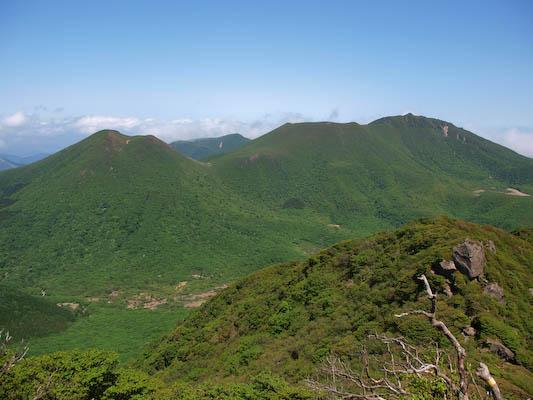 平治岳、北大船山、大船山