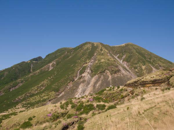 初夏の三俣山