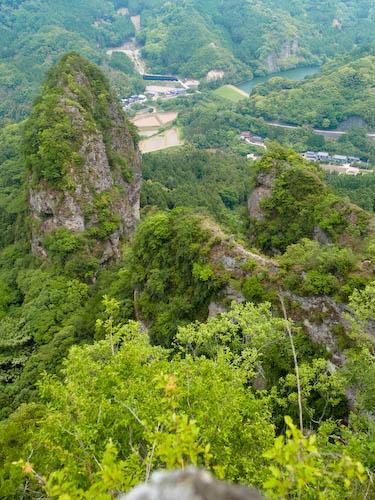 中山仙境のヤセ尾根