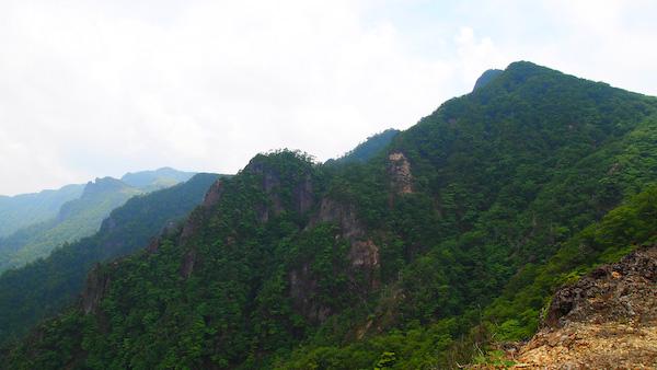 祖母山 from 馬の背