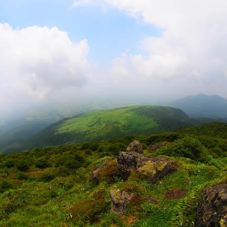 岩井川岳 from 扇ヶ鼻