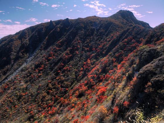 米窪の紅葉