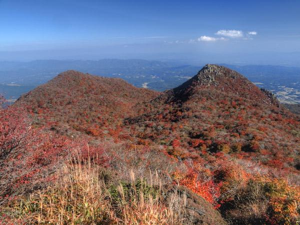 黒岳の高塚山より