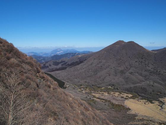 三俣山南峰ルートより
