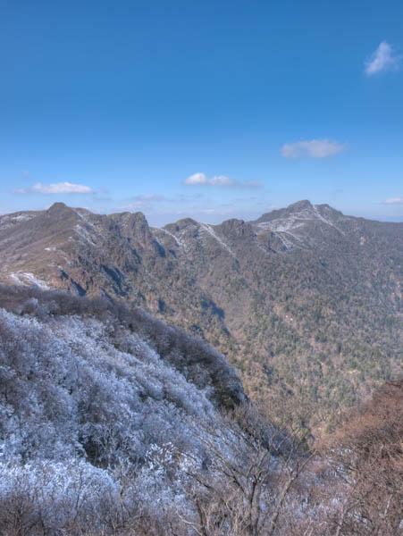 祖母山・障子岳