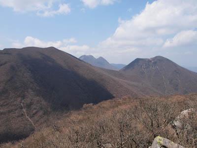 高塚山の風景