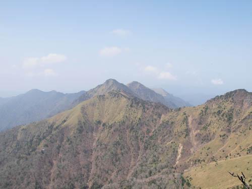 山頂からの風景