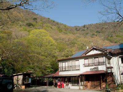 白水鉱泉の黒嶽荘