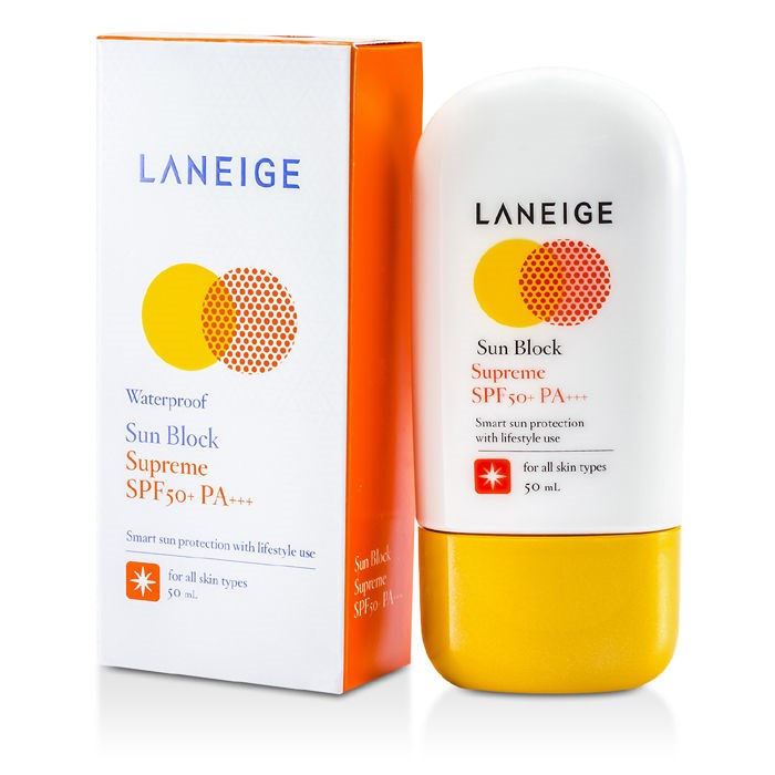 Kem chống nắngLaneige Sun Block Supreme (50 ml) giá 160k