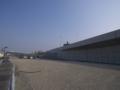 [道路][福岡]左端に見える東田第一高炉モニュメント付近で既存の5号線と合流する