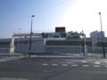 [道路][福岡]12月に開通した北九州高速5号線東田出入口。