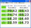 CDM 3.0 - RunCore Pro IV 1.8 インチ PATA ZIF SSD