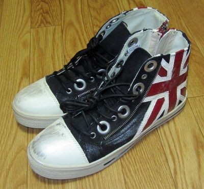 in the attic Autumn & Collection - Union Jack sneakers