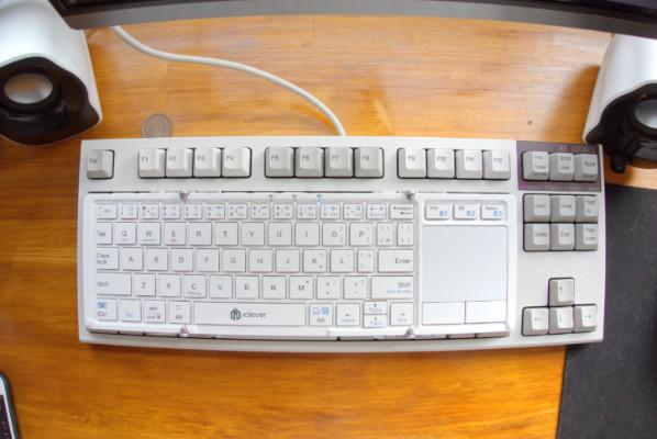 フルサイズキーボードとの比較