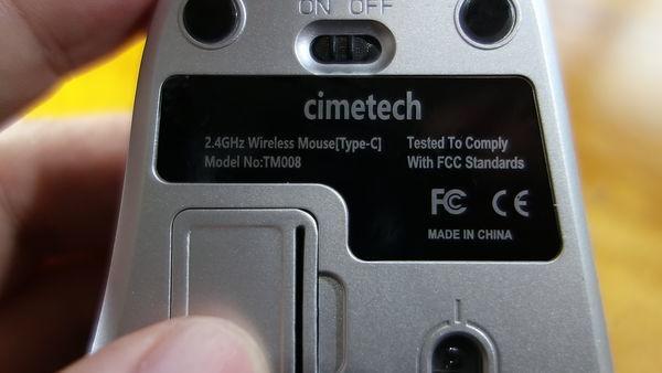 cimetech 技適マークがない