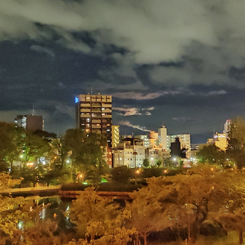 Redmi note 9s 夜景モード