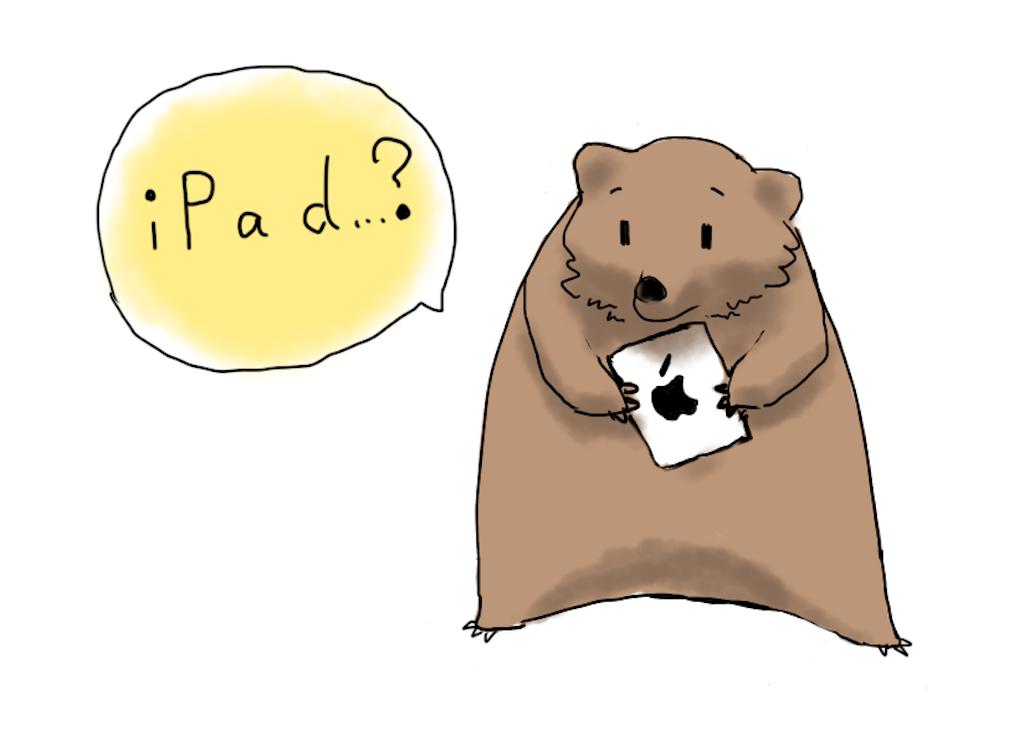 iPadを買うなら、どれ?