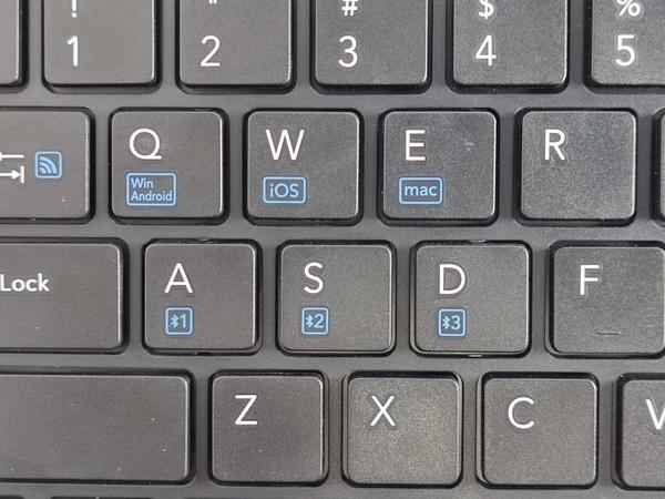 TK-FBP102BK/EC OS切り替えはキーで対応