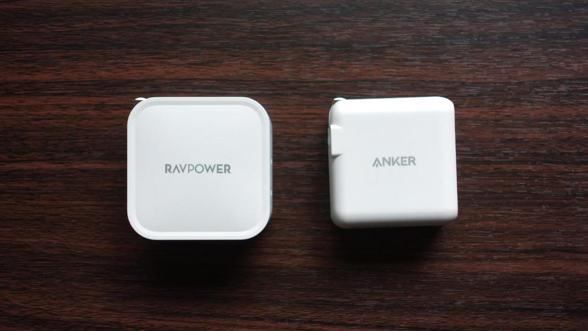 RAVpower PR-PC128 と Anker PowerPort Atom III ①