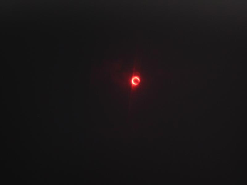 7:30 am 金環日食!の画像