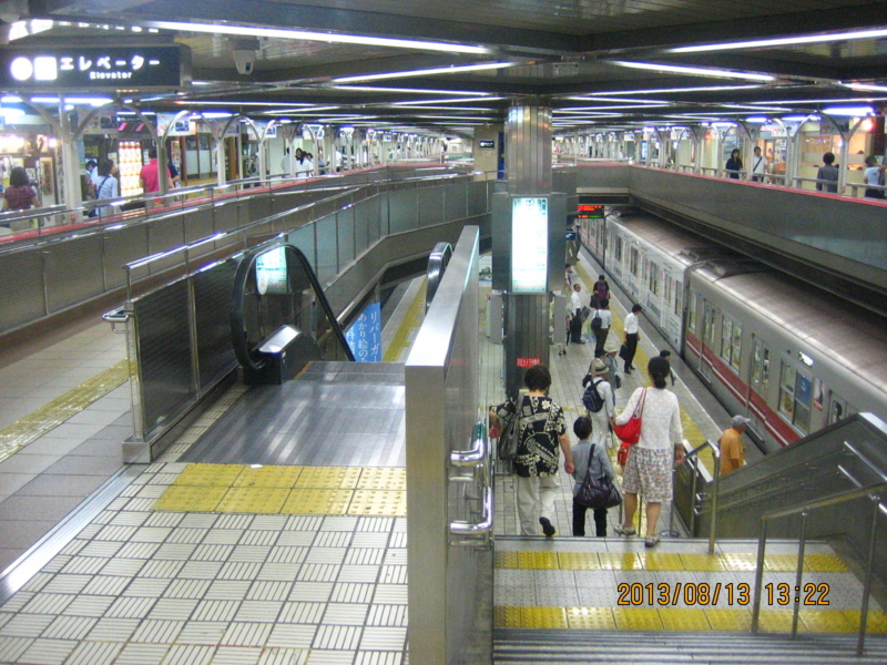 1:22 pm 北大阪急行電鉄・千里中央駅の画像
