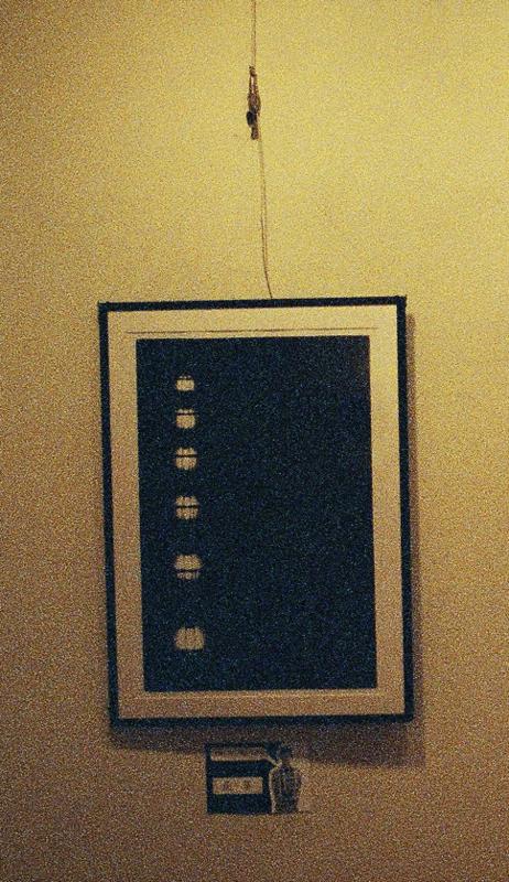 個展の画像
