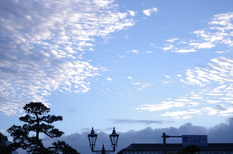 5:57 am ~ 6:05 am わざわざ散歩しに行く in Kagoshima...の画像
