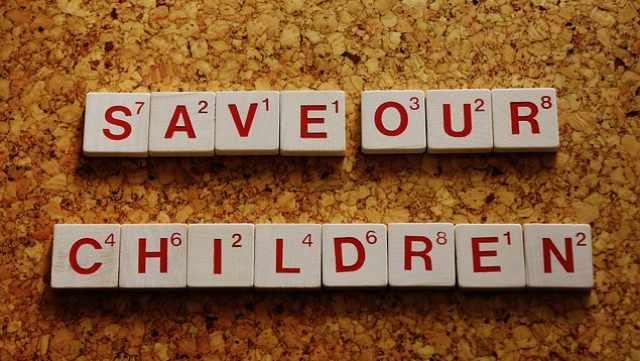 子供を守る