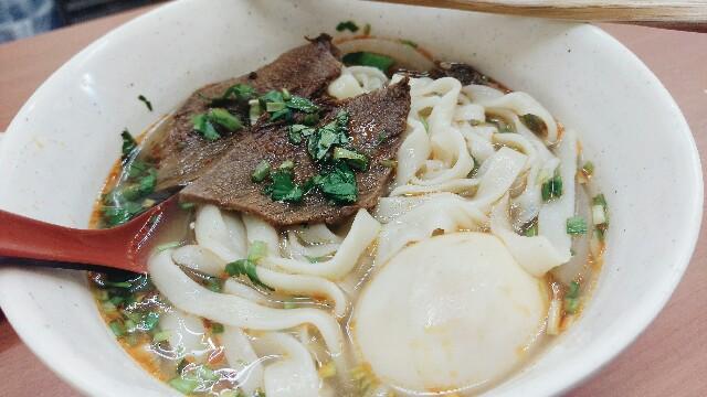 ザムザムの泉 牛肉麺