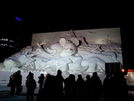ネズミ@札幌雪祭り