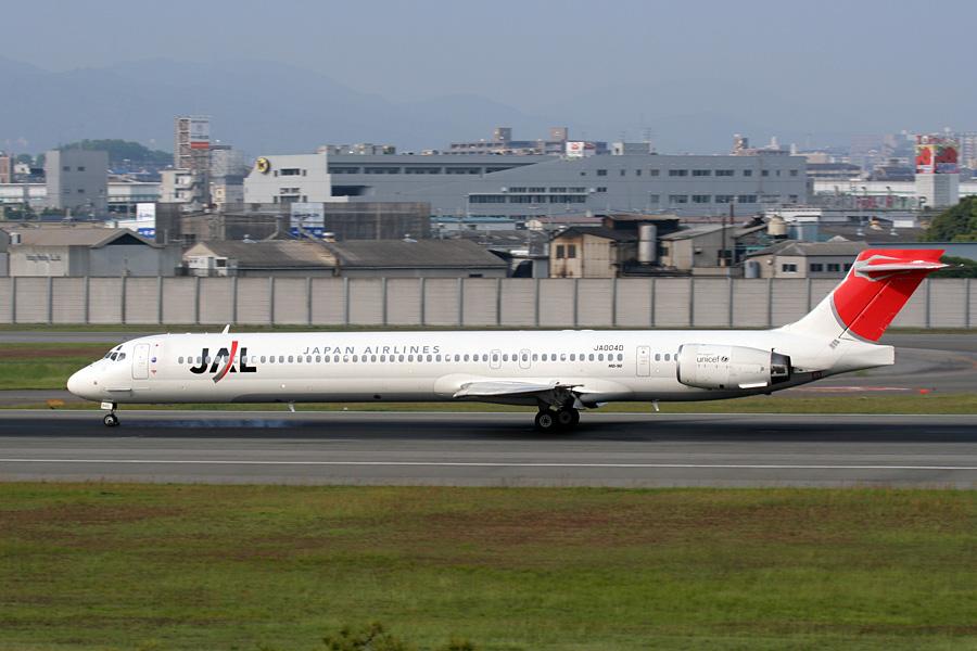 MD-90(JA0040)@伊丹空港