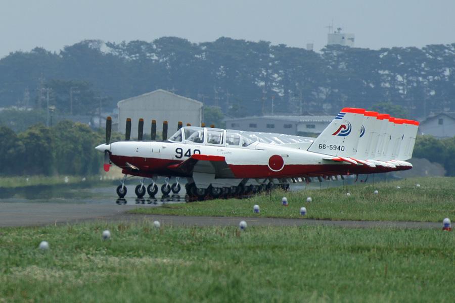 整然と並ぶT-7@静浜基地航空祭2007