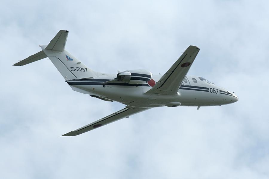 帰投するT-400@静浜基地航空祭2007